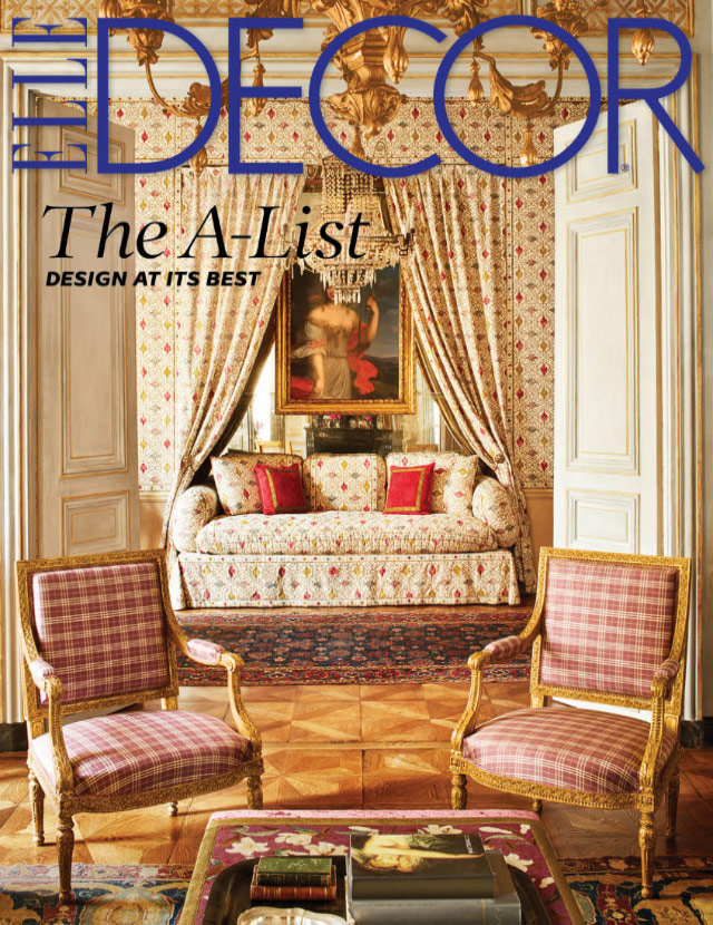 Elle decor suzanne kasler for Elle subscription change address