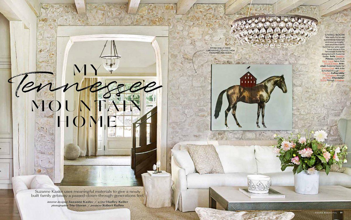 © Suzanne Kasler Interiors - 2020-09 House Beautiful